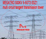 Multi torretta della trasmissione di tangente del circuito di Megatro 500kv 5-5gt2-Ssz1