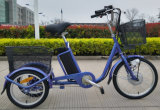 Батарея лития 3 высокого качества 250W 3 Bikes велосипеда колеса электрических для взрослых