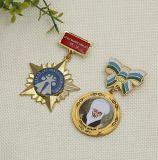 BSCI Lieferant tun Qualitäts-Messingarmee-Ehrenmilitär-Medaille