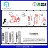 Cartões cortados do PVC do tamanho Non-Cr80 Special feito sob encomenda