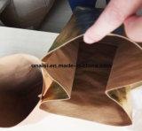 Espessura de 0,5mm a confusão de papel Kraft lavável metálicos diversos sacos de armazenamento
