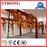Mini grua de corda Chain/elétrica do fio para bens de levantamento