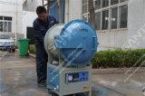 10 litros de 1.200 grados. C puerta doble vacío hornos eléctricos para el tratamiento térmico