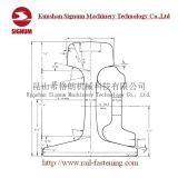 Spoor van de Kraan van het Staal 132re van Arema van Astma1 het Standaard