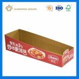 Kundenspezifischer Farben-gewölbtes Papier-Schaukarton (F-Flöte Papierkasten-Bildschirmanzeige-Zahnstange)