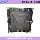 P2, P2.5, el panel de interior de la pantalla de visualización de LED del alquiler de la alta definición P5 con la cabina de fundición a presión a troquel de 480X480m m