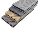 木のPEの建築材料WPCの屋外の木製のプラスチックフロアーリング