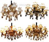 Phine 6 brazos de cristal moderno Swarovski decoración colgante de iluminación lámpara de lámpara de luz de la lámpara
