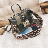 Оптовая торговля заклепки цепи брелоки сумки через плечо леди PU женщин дамской сумочке