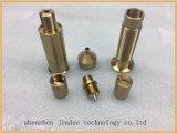Профессионал подвергая алюминий подвергли механической обработке CNC, котор/медные части механической обработке