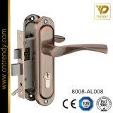 Алюминиевые ручки двери по железной пластину (8003-AL008)