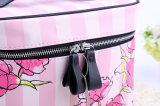 Горячий косметические мешки Макияж высокого качества мешков поездки при необходимости органайзера красоты случае набор туалетных принадлежностей сумка - окно для косметолог