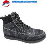 Fw18人の方法偶然靴の標準的なブート様式の最もよい価格の新しいブラシをかけられた金属PUデザイン