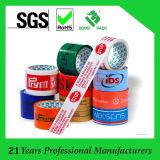 Nastro adesivo stampato marchio su ordinazione per l'imballaggio della casella