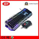 Hochgeschwindigkeitsspiel-USB verdrahtetes mechanisches Tastatur &Mouse