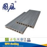 Revestimento composto da placa composta impermeável do Decking da co-extrusão WPC com grão de madeira 145*21mm