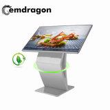 La publicidad de infrarrojos Player Reproductor de la publicidad de tipo horizontal de 32 pulgadas LCD, reproductor de anuncio de lapantalla táctil de la norma ISO9001 LCD Digital Signage