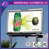 Visualizzazione esterna del tabellone per le affissioni di P6 LED per fare pubblicità