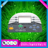 China Manufacturer aluminum Plate Buttons Embossing membrane SWITCH