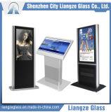 la glace de miroir de 5mm/a enduit la glace pour DEL, affichage à cristaux liquides, écran d'ordinateur etc.