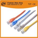 La fábrica de 0,45 mm 0,5 mm Bc CCA CAT6 Newwork Cable LAN Cable con conector RJ45