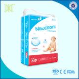 Do cuidado macio do bebê da boa qualidade tecidos descartáveis da fralda do bebê