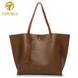 타조 작풍 단 하나 어깨 핸드백 승진 쇼핑 선물 끈달린 가방