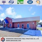 Edificio del almacén de la estructura de acero de la subida de la garantía de calidad alto en Egipto
