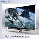 55 WiFi androïdes secs DEL incurvée par Digitals TV de pouce 4K UHD 3840X2160