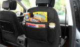 優れたPU革車の蹴りのマットのトランクのハングのオルガナイザー袋は後部席のオルガナイザーの保護装置をからかう