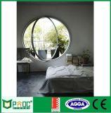 El ahorro de energía de la ventana circular de aluminio con doble vidrio Pnoccuw00029