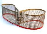 El teflón de grado alimentario cinta transportadora de malla abierta