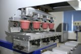Impresora semiautomática de la pista del color del precio cuatro de la impresora de la pista con la impresora de la pista del deslizador del color del transportador cuatro