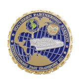 工場カスタム金属のエナメルの金の記念品の骨董品の硬貨