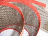 PTFE teflonüberzogenes Fiberglas-Gewebe-preiswerter Förderanlagen-Ineinander greifen-Riemen