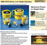 RsmのRcsシリーズ、低い高さシリンダーオリジナルEnerpac