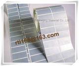 Escritura de la etiqueta en blanco de plata impermeable de la impresión de la alta calidad