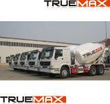 parte superiore del miscelatore concreto del camion 10cbm, camion del cemento