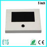 5 polegadas LCD Convite Promoção Cartão de vídeo