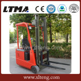 Ltma Mini 1.5 toneladas de tres ruedas Carretilla elevadora eléctrica