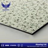 大理石の石造りの自然な質の建築材料のアルミニウム合成のパネル