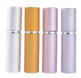 5 ml de multiples couleurs flacon de lotion pour le parfum de l'emballage en aluminium le tube de verre voyage Portable contenant atomiseur De Parfum Vaporisateur