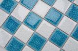 Het blauwe en Witte Gemengde Blauwe Ceramische Mozaïek van de Barst voor de Tegel van het Zwembad