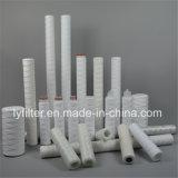 Fábrica de Guangzhou herida PP Filtro de cartucho para el tratamiento de líquidos