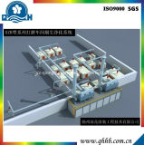 Оборудование для нанесения покрытия порошка высокой эффективности с высоким качеством