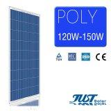 Painéis solares polis com Ce, certificados de preço de fábrica 130W do TUV