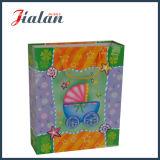 Papel de marfil laminado mate de papel de regalo de embalaje paquete de papel de regalo