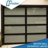 Vidro temperado de alumínio / folha de PC / Porta de Garagem espelhado