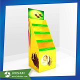 Soporte de visualización de la cartulina del papel acanalado, soporte de visualización del cartón