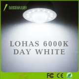Свет соответствующего дня белый 6000K СИД Senesor электрических лампочек 5W 50W датчика движения СИД GU10 PIR